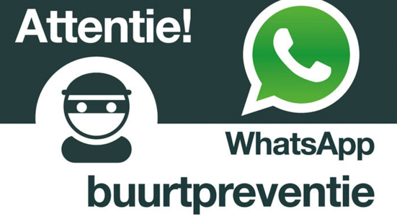 Whatsapp buurtpreventie Noord Oost Skoatterwâld gestart!