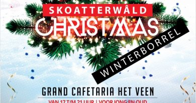 Winterborrel – 13 december – de Spil